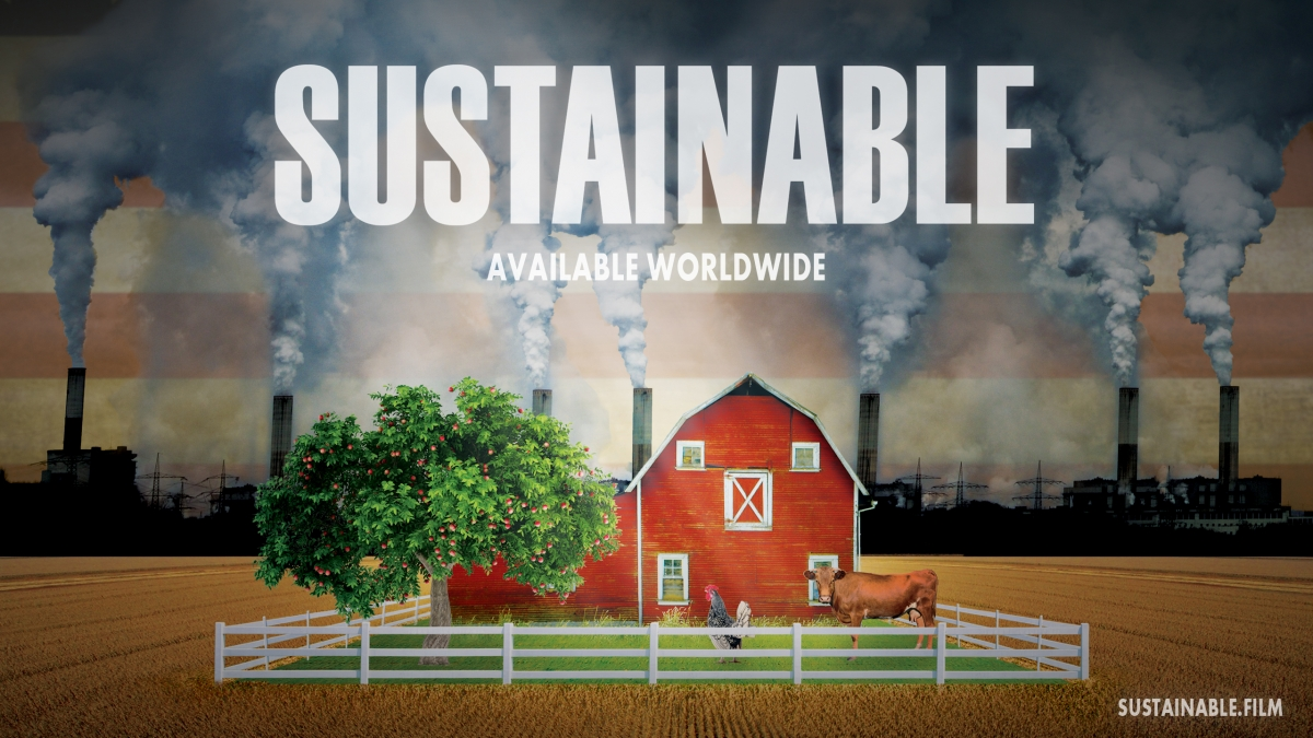 "Film poster: ""Sustainable"""